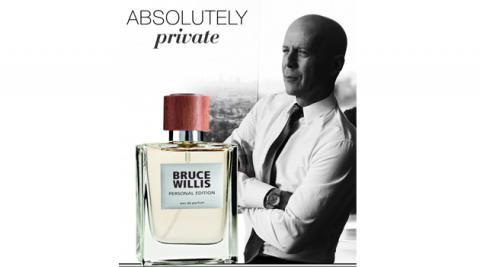 Bruce Willis sponsor partenariat collaboration parfum LR Health Beauty domicile