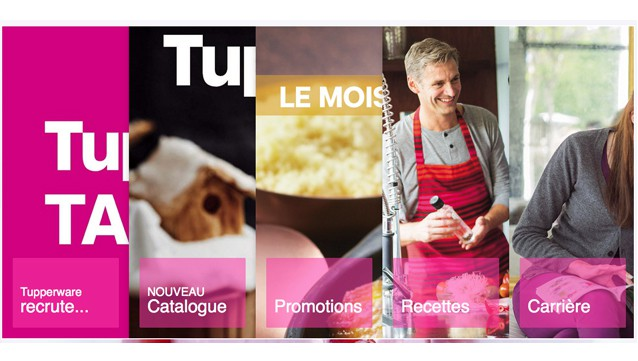 Tupperware recrute
