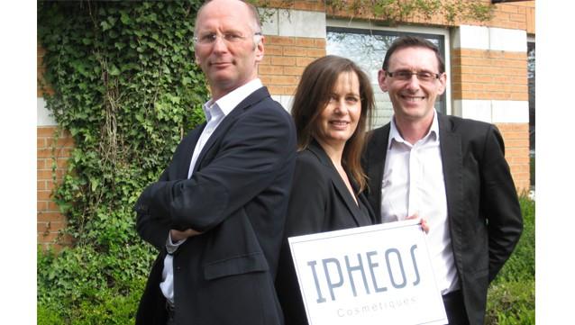 De gauche à droite : Jean Christophe Hallynck, Stéphanie Pierlot et Stéphane Jumel, cofondateurs d'Ipheos.